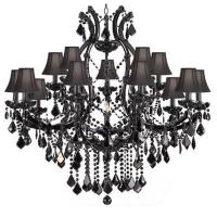Contemporary black chandelier lighting (WH-CY-95)