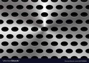 China Galvanized Perforated Metal Sheet / Punching Metal Panel Width Customized on sale