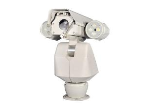 China Night IR Version 18X 1 / 3″CCD M66 Mini PTZ Video Surveillance Cameras With Lamps on sale