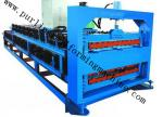 Metal Trapezoidal Roof Tile Double Layer Roll Forming Machine with PLC System