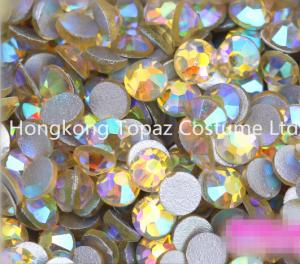 China jonquil ab Rhinestones for Nail Art 1440pcs Flat Back Non Hotfix Glue on Nail Art Rhinesto on sale