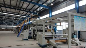 China 1800MM 3 Ply Corrugated Cardboard Production Line 100m / Min For Cardboard Making​ on sale