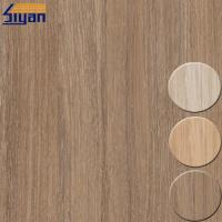 Membrane Press PVC Decorative Foil For Cabinets And Doors , Wood Texture