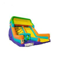 Durable Inflatable Kids Castle Slide Attractive Design High Strength Long Life Usage