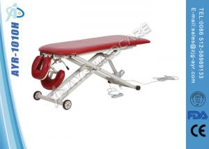 China Medical Electric Lift Massage Treatment Table With Rounded Corners on sale