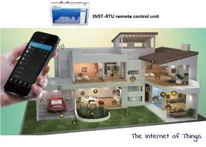 China GPRS SMS Command Ethernet RTU GSM Remote Monitoring Security Alarm System on sale