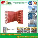 Condensing Gas Boiler Water Wall Panels , Boiler Membrane Wall Tube