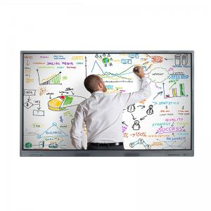 China 4K Wall Mount IR Multi Touch Screen LCD Monitor 55 Inch Resolution 3840 * 2160 on sale
