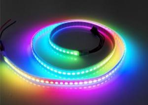 China Waterproof Color Chasing Magic Digital LED Strip Lights WS2813 144 Pixels Addressable on sale