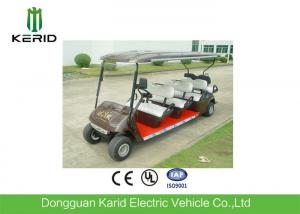China Custom Street Legal Electric Golf Carts With Trojan Acid Battery For Multi Passenger on sale