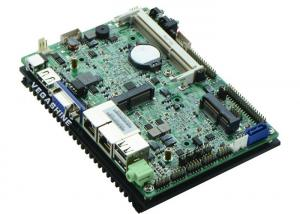 China Low Power Industrial PC 3.5 inch 6 COM , 6 USB , 2 LAN fanless Motherboard on sale