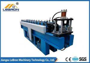 China Metal Steel Cable Tray Roll Forming Machine , Full Automatic Cable Tray Making Machine on sale
