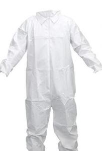 China Breathable Disposable Body Suit Protective Coveralls S-6XL CE Certification on sale
