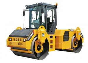 China Cummins / Deutz Engine Road Roller Machine 13000kg Operating Weight With Vibrating Function on sale