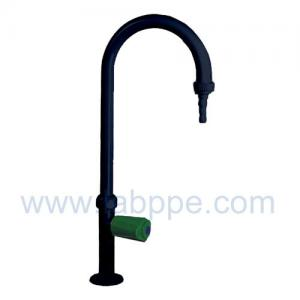 Quality SHA5B1-Export Black single tap Single Way Lab Tap Faucet,360 swing,chrome plated faucet for sale