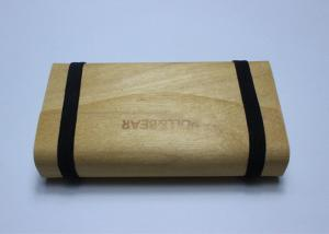China Summer Bark Balsa Wood Box Nature Vintage Color Handmade For Cigarette on sale