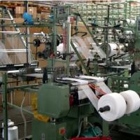 Crepe bandage weaving machine / elastic bandage weaving machine