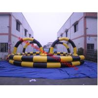 Inflatable air track air race track inflatable go carts track
