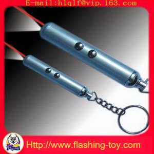 China Pocket LED Shining 650nm torch light Laser Pointer Keychains HL-A1003 on sale