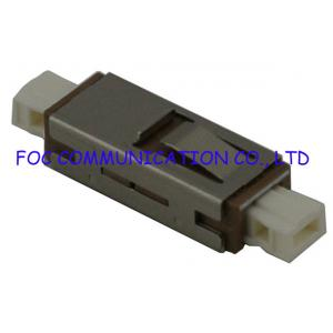 China MU Fiber Optic Adapter Simplex Duplex and 8Cores For Fiber Optic Networks on sale