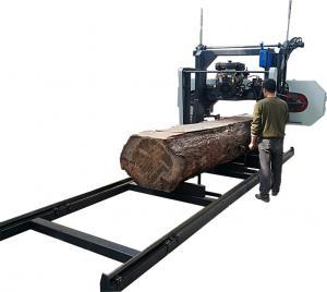 Horizontal hard log cutting diesel portable sawmill /Log