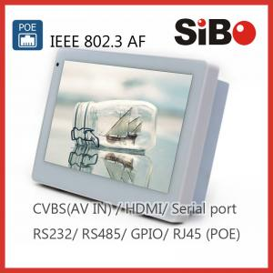 China Building Automation Control 7 Embedded Wall Android POE Tablet PC supplier