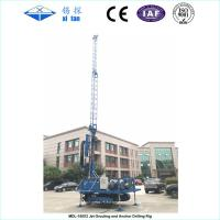 Convenient Jet Grouting And Anchoring Drilling Rig MDL - 150X2 Easy Maintenance