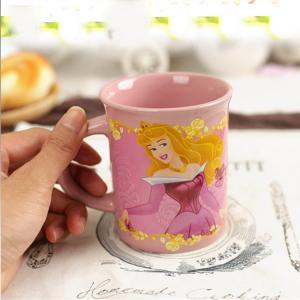 China Beautiful Girl Design Pink Promotional Coffee Travel Mugs Modern Art Eco - Friendly on sale