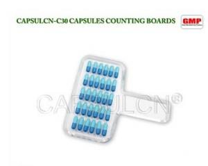 China Acrylic 000# 00# 1# Manual Capsule Counter Board With 30 Holes on sale