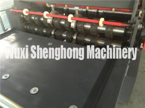 China Corrugated Roof Panel Roll Forming Equipment With Automatically Alarm on sale