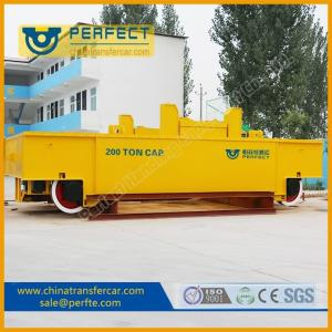 Quality Hot Metal Ladle Transfer Car For Sale