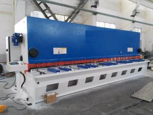 China 6M Long Mechanical Plate Guiiotine Shear Machine In Metal Cutting Machinery Resale on sale