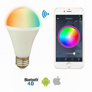 China Bluetooth 4.0 LED RGBW Bulb by Smart Phone APP Operation iPad / iPhone / Android Smart Phone for KTV,Hotel, Bar,Cafe on sale