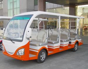 China 14-seat electric sightseeing bus on sale
