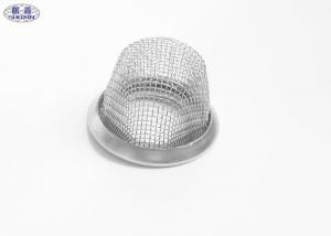 China Fine Mesh Stainless Steel Wire Mesh Baskets 14.8mm Tobacco Smoking Bowl on sale