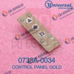 CONTROL PANEL GOLD 0738A-0034