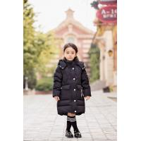 Bilemi Detachable Cap Black Red Gray Down Jacket Baby Girl Parka Kids Winter Down Coat