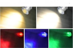 China Low Voltage 12V IP68 LED Underwater Pool Light RGB Swimming Pool Led Lights Pond light Outdoor Landscape Lighting on sale