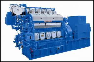 China 2000kw 2500kw Fuel Oil Gas Engine Generator For Remote Country / Ships on sale