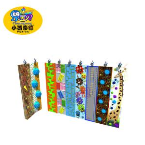 China Public Playground Climbing Wall , Indoor Artificial Rock Climbing Wall on sale