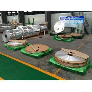 China Bandes de papier d'aluminium de transfert de chaleur/papier aluminium industriel pour les tubes à ailettes on sale