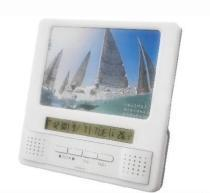 China Photo Frame FM radio with alarm clock and temperature (SY-6015,new design) on sale