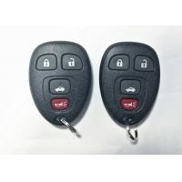Keyless Remote Control Auto Key Fob Black Color GM Remote Start Key Fob
