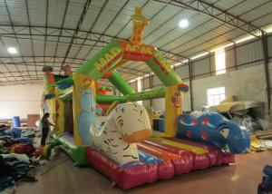 China Giraffe animals inflatable obstacle courses cute deer theme obstacle courses inflatable athletics sport games courses on sale