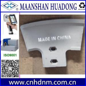 China concrete mixer casting blade parts on sale