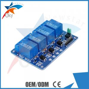 China 5V 4 Ch SSR Solid State Relay Module For Arduino Low Level Trigger 240V 2A on sale
