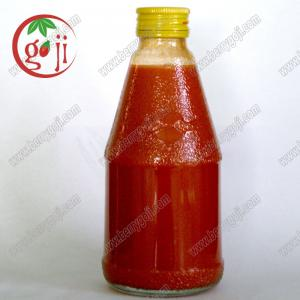 China Ningxia Pure Goji Berry Juice Concentrate/ Goji Juice Concentrate/Wolfberry Juice concentrate/36% Brix on sale