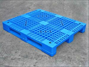 Quality Virgin HDPE Industrial Heavy Duty Reusable Plastic Pallets For Warehouse Package Sale