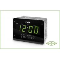 China AM / FM Digital Clock Radio with Alarm, Large 1.5 LED display, Snooze and USB / SD on sale