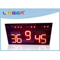 16 Inch 400mm LED Baseball Scoreboard For High School Simple Operation